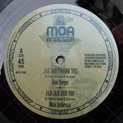 """MA12-005 - Moa Anbessa- Jah Jah Thank You (12"""")"""