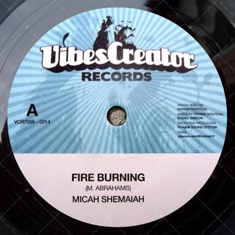 Micah Shemaiah - Fire Burning