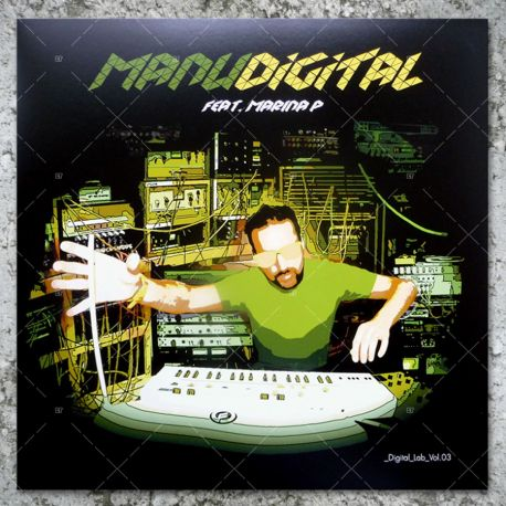 Manudigital feat. Marina P - Digital Lab Vol.03
