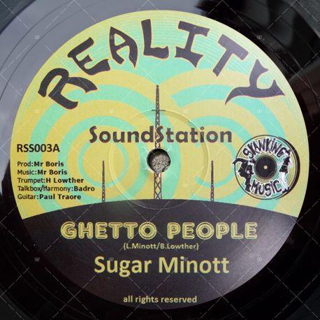 Sugar Minott - Ghetto People