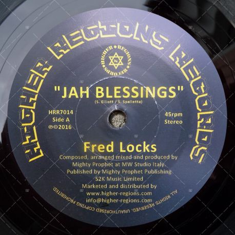 Fred Locks - Jah Blessings
