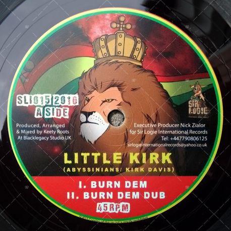 Little Kirk - Burn Dem / Sta' Sax - Satta Steppa