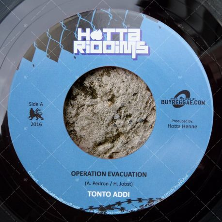 Tonto Addi - Operation Evacuation