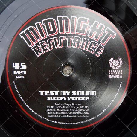Sleepy Wonder - Test My Sound