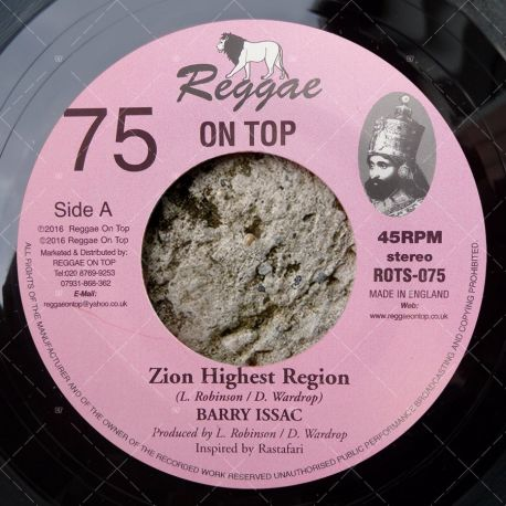 Barry Issac - Zion Highest Region