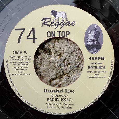 Barry Issac - Rastafari Live