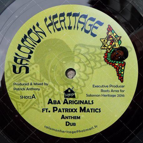 Aba Ariginals feat. Patrixx Matics - Anthem