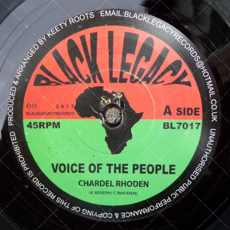 Chardel Rhoden - Voice Of The People