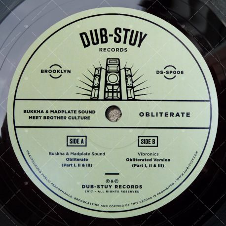 Bukkha & Madplate Sound meet Brother Culture - Obliterate