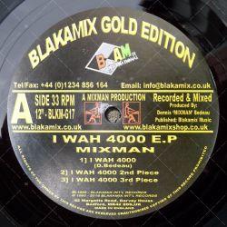 Mixman - I Wah 4000 EP