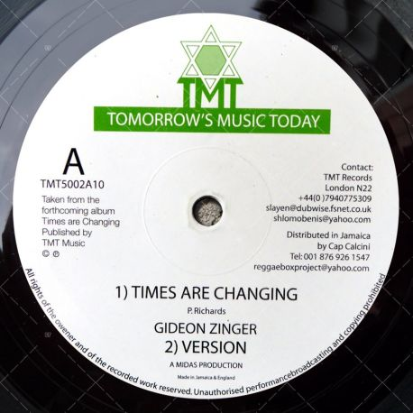Gideon Zinger - Times Are Changing