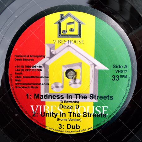 Dezzi D - Madness In The Streets