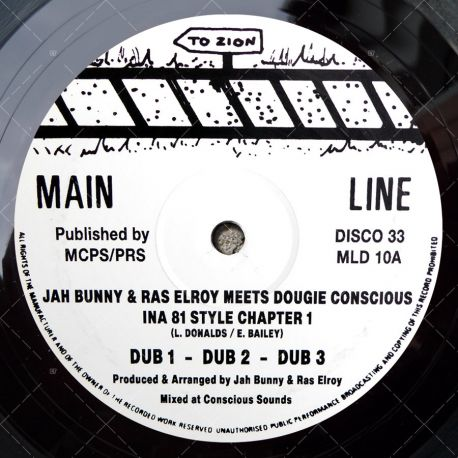 Jah Bunny & Ras Elroy meets Dougie Conscious - Ina 81 Style Chapter 1