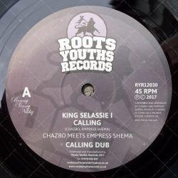 Chazbo meets Empress Shema - King Selassie I Calling