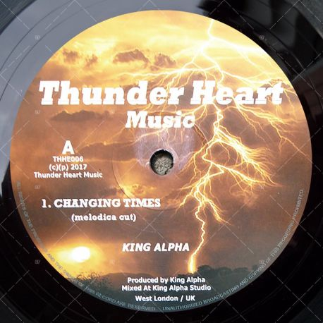 King Alpha - Changing Times
