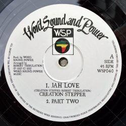 Creation Stepper - Jah Love