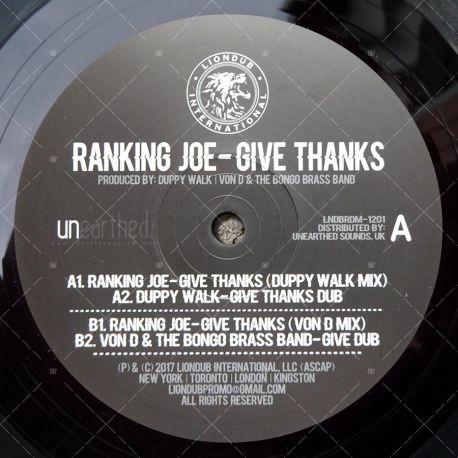 Ranking Joe - Give Thanks