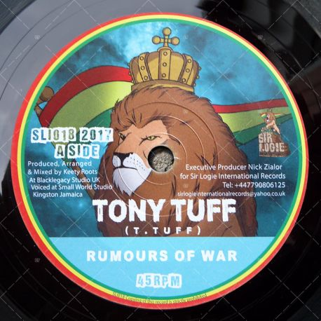 Tony Tuff - Rumours Of War