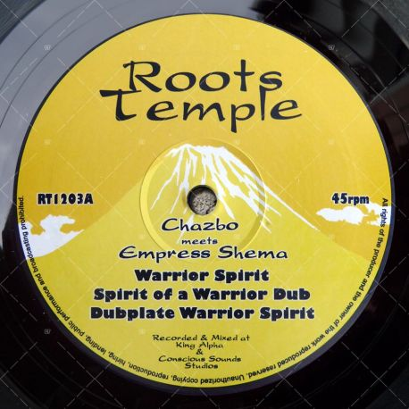Chazbo meets Empress Shema - Warrior Spirit