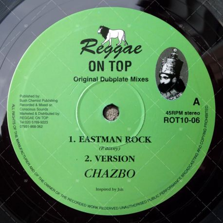 Chazbo - Eastman Rock
