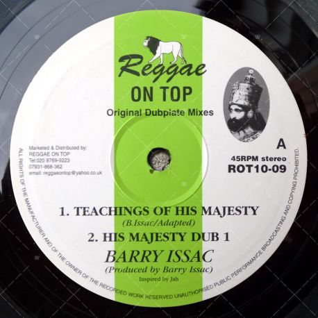 Barry Issac - Teaching Of His Majesty