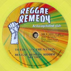 Reggae Remedy Section - To Educate The Nation
