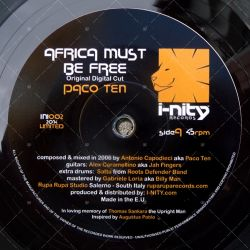 Paco Ten - Africa Must Be Free