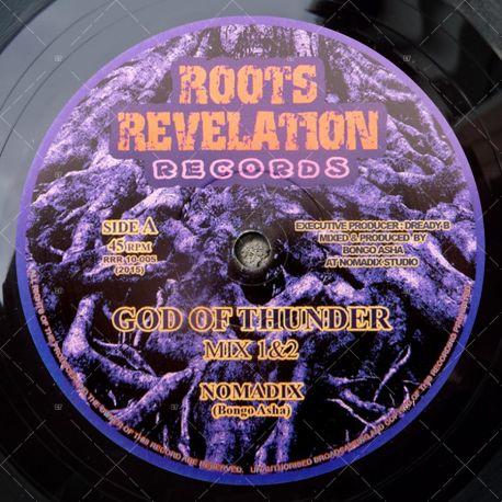 Nomadix (Bongo Asha) - God Of Thunder Mix