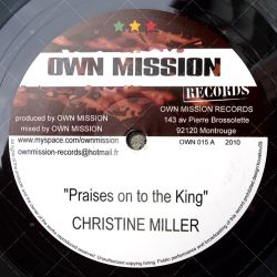 Christine Miller - Praises On To The King (Extended Version)