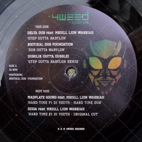 Delta Dub feat. MrDill Lion Warriah - Step Outta Babylon