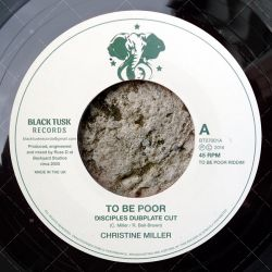 Christine Miller - To Be Poor
